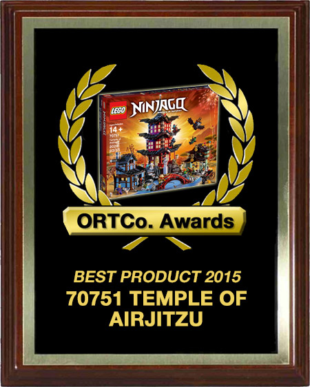 Best Product 2015 - 70751 Temple of Airjitzu