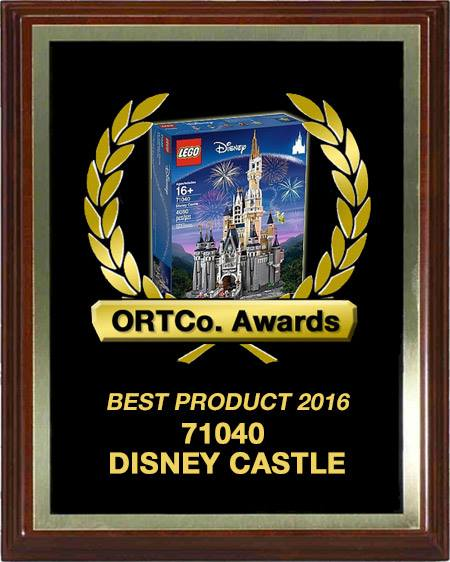 Best Product 2016 - 71040 Disney Castle