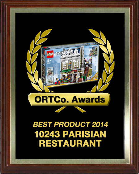 Best Product 2014 - 10243 Parisian Restaurant