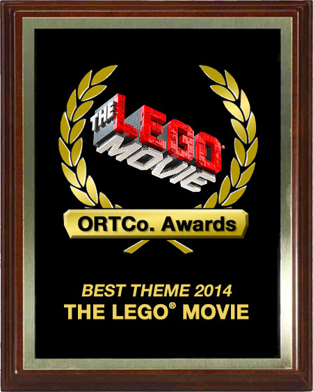 Best Theme 2014 - The LEGO Movie